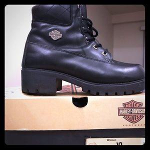 Harley Davidson women's size 10 boot